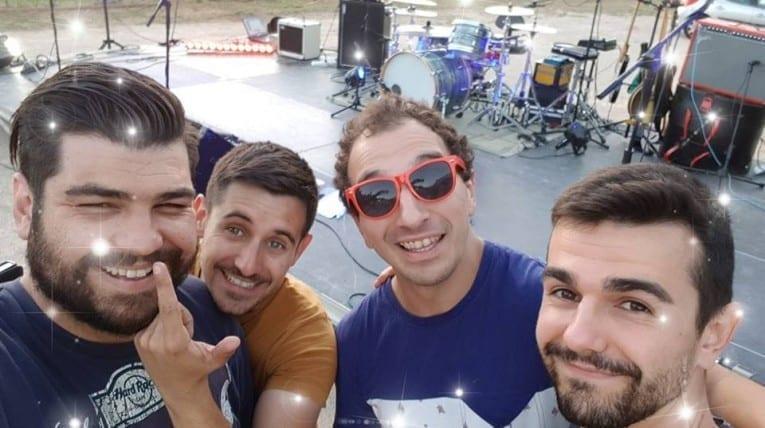 Les klosque, groupe de musique - Camping Le bois de pins - Perpignan 66