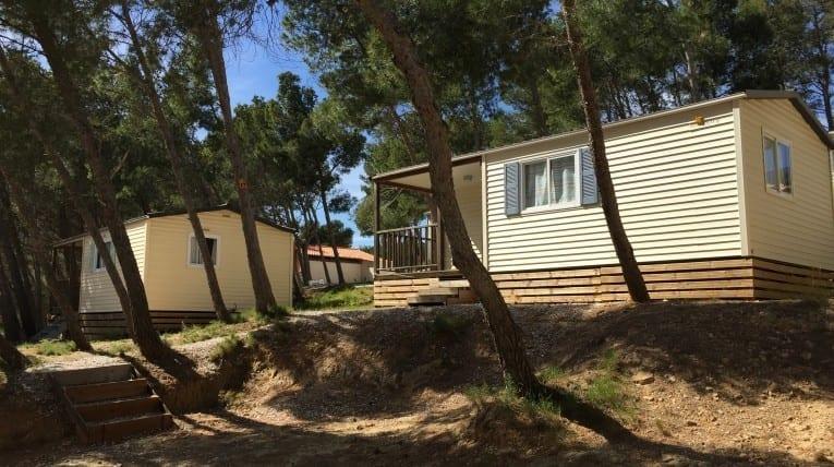 Mobil-home 4/6 Personnes 2 Personnes - Camping Le bois de pins - Perpignan 66