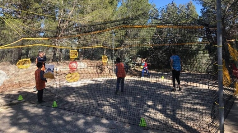Home-ball, activité de camping - le bois de pins - Perpignan 66
