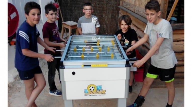 Jeux de tables - Camping Le Bois de Pins - Perpignan 66