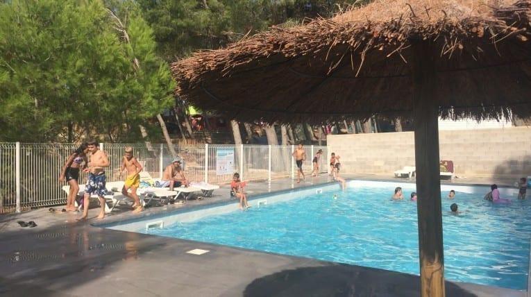 Bain de soleil - Camping Le bois de pins - Perpignan 66