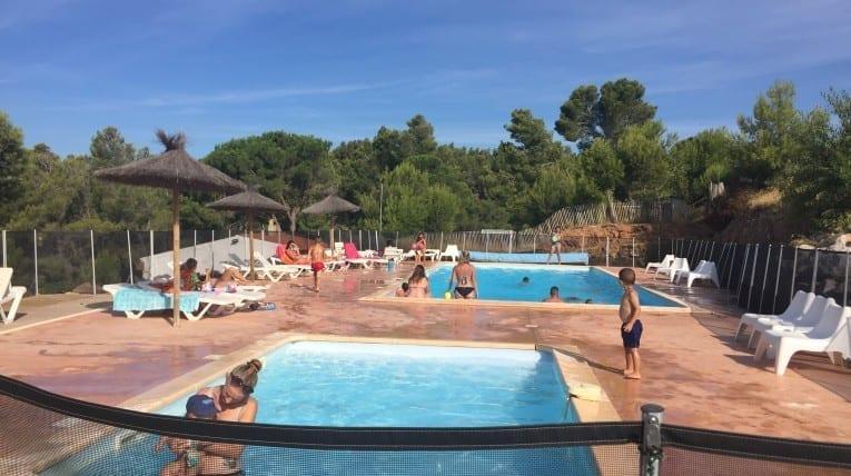 Piscines Camping - Le Bois de Pins - Perpignan 66