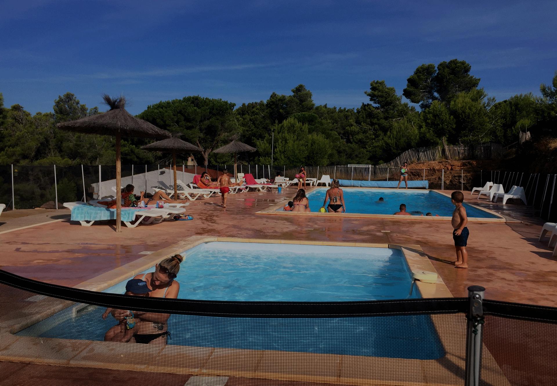 piscine - Camping le bois de pins -Salses-Le-Château 66