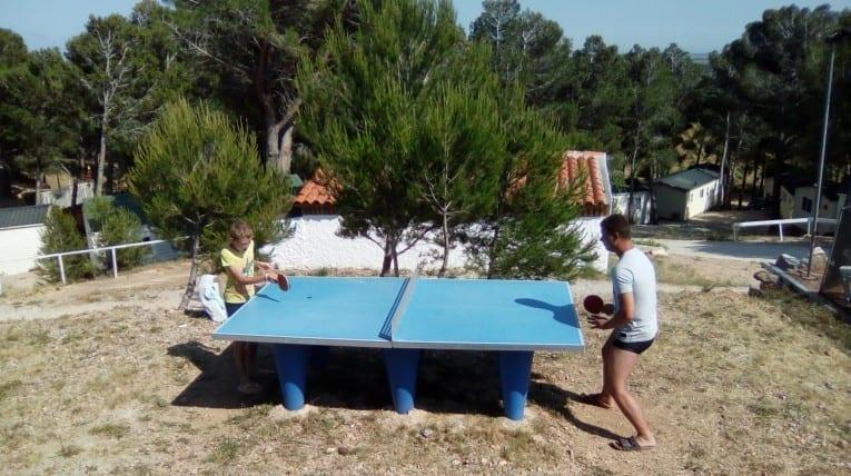 Ping Pong - Camping Le Bois de Pins - Salses-Le-Château 66